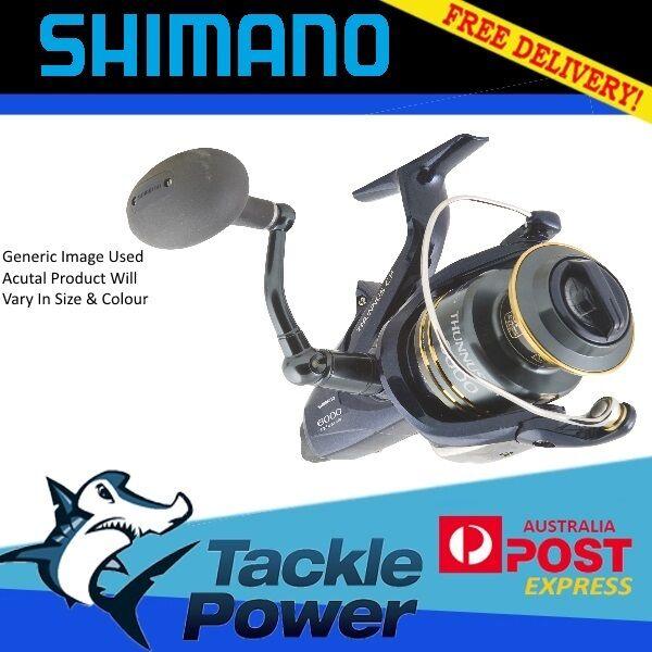 Shimano Thunnus 8000 Ci4 Baitrunner Fishing Reel Brand New! 10 Yr Warranty!
