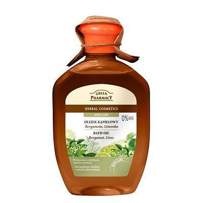 3,32EUR/100ml GREEN PHARMACY Badeöl 2in1 Duschgel Bergamotte ohne Parabene 250ml