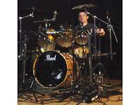 Drummer Available Leeds - Live Dep/Session/Studio Work