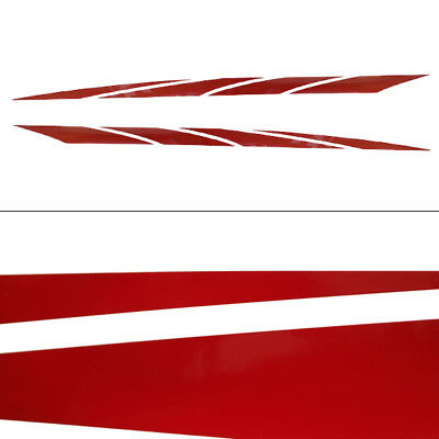 Glastron 2007 Gt Maroon 72 1/8 X 3 Mid Graphic Boat Decals (Set Of 2) 0572952D