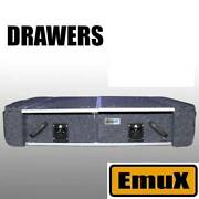 NEW EmuX Rear Drawers with wings and fridge slide 4x4 car 4wd Wangara Wanneroo Area Preview