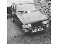 Robin reliant XL green with 12 months MOT
