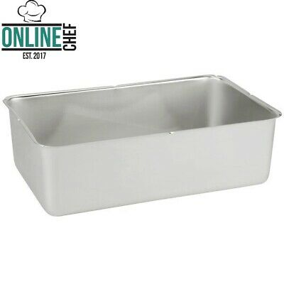 6 Deep Stainless Steel Steam Table Spillage Pan Full Size Rectangle 24 Gauge