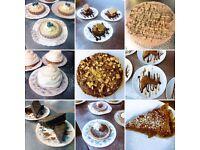 cakes + pastries