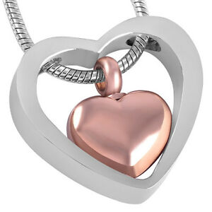 Pendant for ashes ebay cremation jewellery for ashes funeral ash pendant bronze silver heart necklace mozeypictures Choice Image