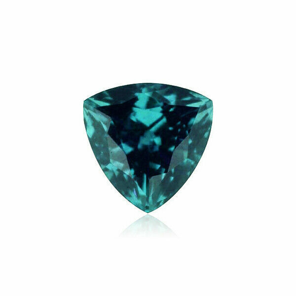 Lab Created Alexandrite Trillion shape AAA Quality Loose Gemstone from 3MM-8MM