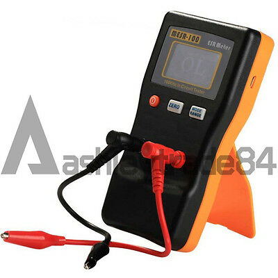 Autoranging In Circuit Esr Capacitor Meter Tester Up To 0.001 To 100r Mesr-100