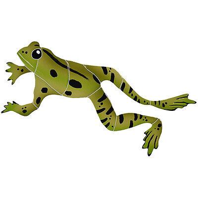 Leaping Frog Ceramic Swimming Pool Mosaic