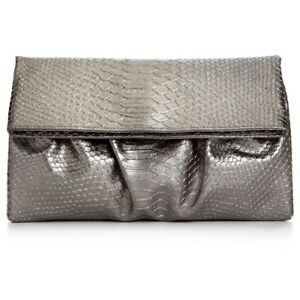 Style & Co pewter purse clutch