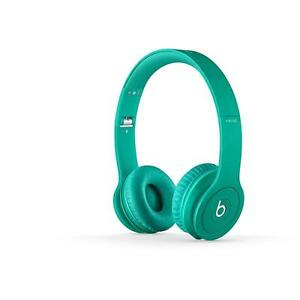 Beats Solo HD on Ear Headphones Drenched in Teal | eBay
