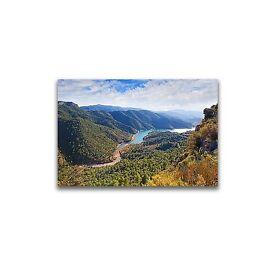 Very Large print Canvas of a Mountainous Landscape