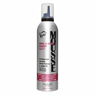 Protein Mousse (Vigorol Relaxed Hair Mousse with Avocado,Wheat Proteins and Jojoba Oil)