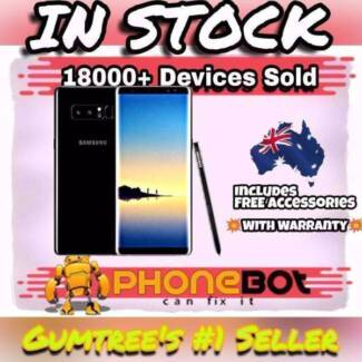 Brand New Sealed Samsung Galaxy Note 8 AU Full Warr@Phonebot