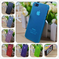 Matte transparent ultra thin case for iphone 4/4s/5/5s