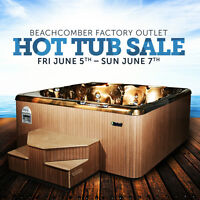 Hot Tub Sale - Beachcomber Factory Outlet Store Grand Opening!