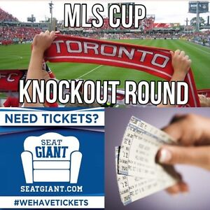 TFC PLAYOFF TICKETS - TONIGHT!! MORE THAN HALF OFF FACE VALUE!!!
