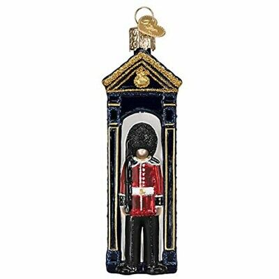 Old World Christmas 24201 Glass Blown Palace Guard Ornament