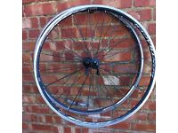 Racing bike wheels