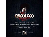 Warehouse Project Circo Loco 19th Nov
