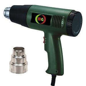 Heat Gun Shrink Hot Air gun 60°C~650°C 1800W 110V New!!