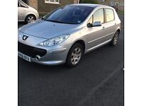 Peugeot 307 1.6 Hdi low mileage and 1 owner from new!