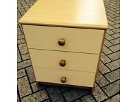 Bedside table small chest of drawers - can deliver