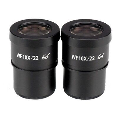 Amscope Ep10x30e Pair Of Extreme Widefield 10x Eyepieces 30mm For Microscopes