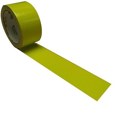 Atomic Yellow X-factor Duck Tape Brand Duct Tape - Neon Yellow 1.88 Inch X 15 Yd