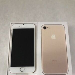 Gold iPhone 7, 128gb.