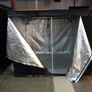 8'X8'X6 1/2'h Black Out Shelter For Plants To Induce Flowering