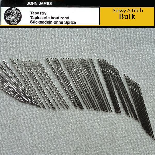 Bulk JOHN JAMES #24 Tapestry Needles