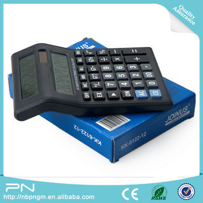 Dual Double Sided Display Screen Calculator by Joinus with 12 Large Digits