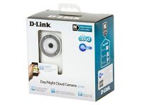 DLINK WIRELESS CLOUD SECURITY CAMERA WITH DAY AND NIGHT VISION