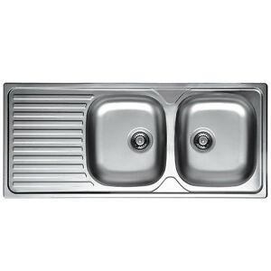 Lavello lavandino cucina inox da incasso cm 116 x 50 ala sx - Lavandino cucina fragranite ...