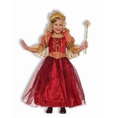 Mädchen Kind Designer Renaissance Damsel Kostüm S ()