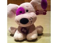 Pucci pets soft toy pink and purple
