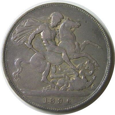 elf Great Britain Crown 1896  Victoria  St George Horse Dragon