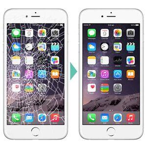 IPHONE 6 PLUS GLASS LCD REPAIR RÉPARATION DE VITRE LCD109.99$