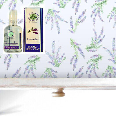 Lavender Drawer Liner with Room Spray By Master Herbalist for sale  Shipping to India