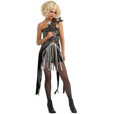 Damen Erwachsener Reiz Lady Gaga Super Star Kostüm