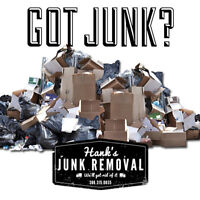 Junk Removal, Yard Cleanup. Residential & Commercial.