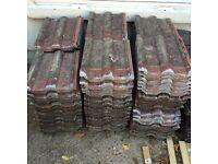 Redlands 50s roof tiles (140 tiles)