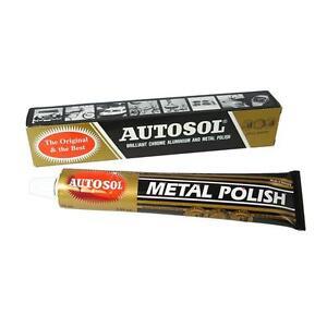 Autosol Solvol Chrome Polish Aluminium & Metal Paste 75ml tube, Fast Dispatch