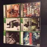 XBox360 games, incl. Call of Duty