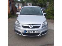 Vauxhall zafira auto diesel very good mpg