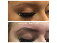 Microblading, Eyelash extensions, Russian volume 3D-9D