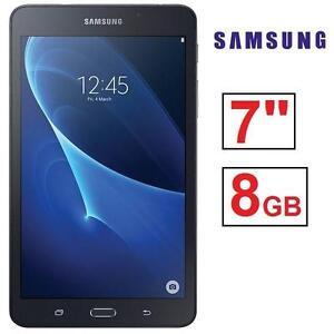 "REFURB SAMSUNG GALAXY TAB A 7"" 8GB ANDROID TABLET - WIFI - 7"" - BLACK 105771389"