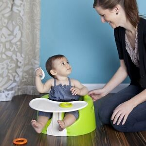 Bumbo Floor Seat and Play Tray – Lime