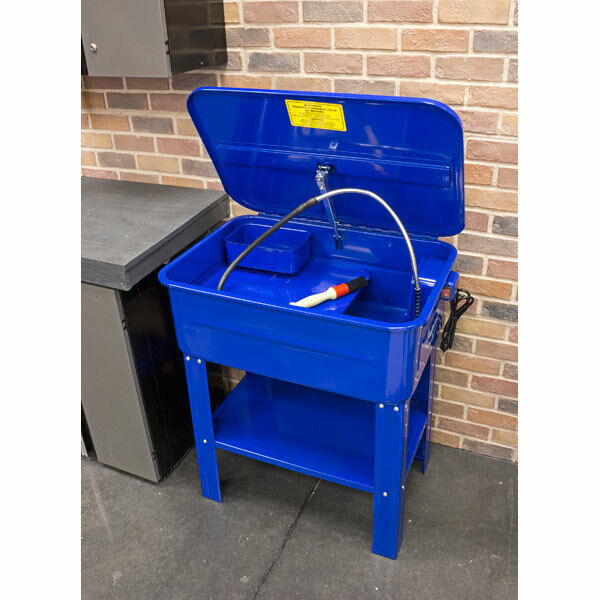 Eastwood Parts Washer Cabinet 20 Gallon Capacity Includes Parts Bin Clean Brush