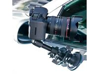 CAMERA MOUNT DUAL SUCTION CUPS